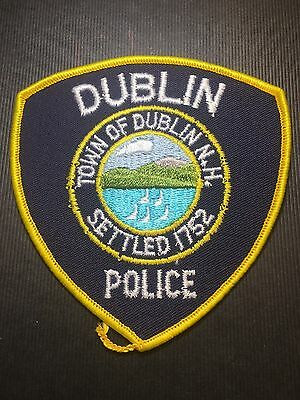 Dublin  New Hampshire  Police  Shoulder Patch