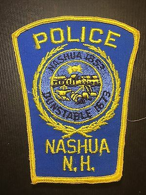 Nashua  New Hampshire Police  Shoulder Patch