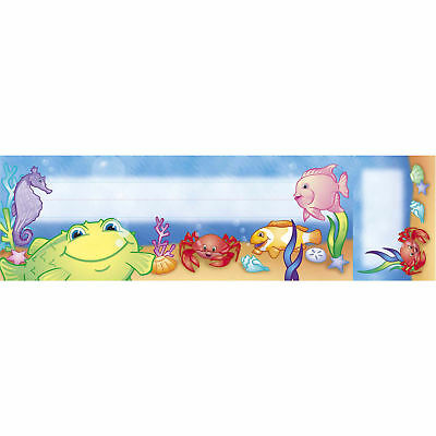 Northstar Teacher Resource Seat and Cubby Signs Under The Sea Name Tag