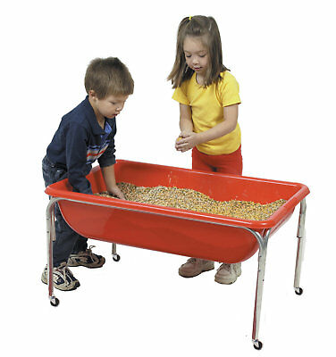 "Children's Factory Sensory Rectangle Sand & Water Table 18"" H x 36"" W x 24"" D"