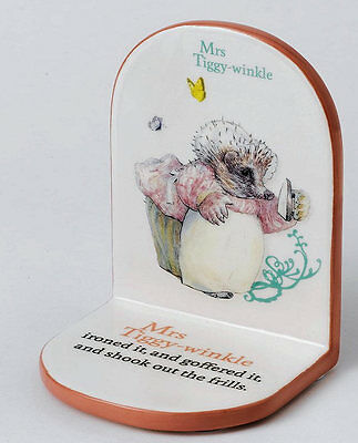 A25146 Beatrix Potter Nursery Collection Mrs Tiggy Winkle Single Bookend  19781