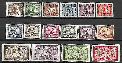 Indochine stamps 1933 YV Service 1-16  MNH  F/VF