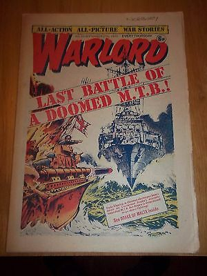 Warlord no.53 September 7th 1975 Peter Flint, Union Jack Jackson . Early issue