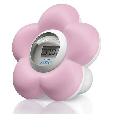 Philips Avent SCH550/21 Baby Bath & Room Thermometer (Pink)