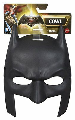 NEW Batman v Superman: Dawn of Justice Batman Cowl Mask - Black