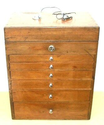 Vintage Dentists / Dental Cabinet   Collectors chest of Drawers