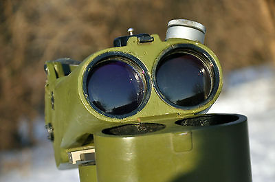 vintage Soviet Flak Anti-aircraft Binoculars D49 12x60 scope Carl Zeiss BLC copy