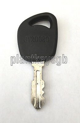 John Deere Ride On Mower Key - Free Uk Post!