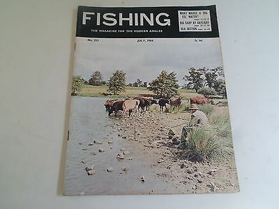 Vintage JULY 1966  FISHING The Magazine For The Modern Angler + Advertising