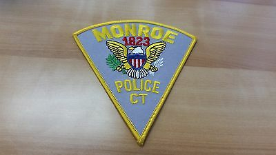 Monroe collectible Patch Connecticut CT