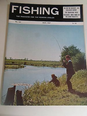 Vintage MAY 1967  FISHING The Magazine For The Modern Angler + Advertising