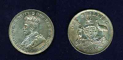 Australia George V 1926-M  1 Shilling Silver Coin  Xf+, Nice Example!