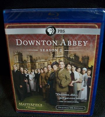 Downtown Abbey Season 2 3 PBS blue ray sealed new