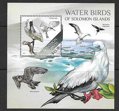 Solomon Islands 2013 Water Birds (2) Mnh