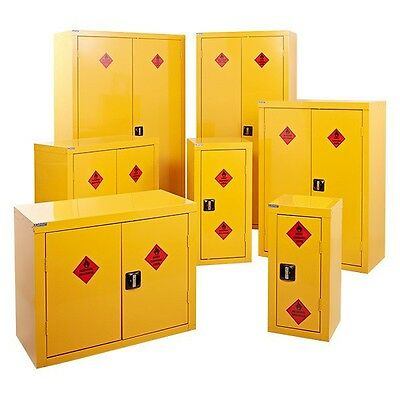 NEW British Made Hazardous Substance Storage Cabinet / Cupboard Choice Of Sizes