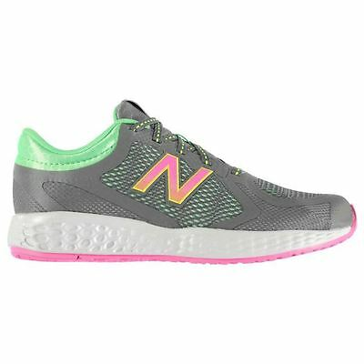 New Balance Kids K790 Junior Girls Running Lace Up Textile Padded Collar Shoes