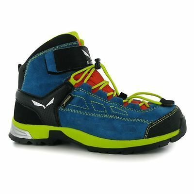 Salewa Kids Player GTX Mid Walking Boots Boys Shoes Outdoor Trekking Hiking