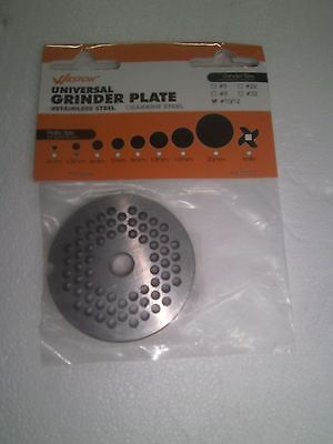 Weston 29-1204 Universal Meat Grinder Plate #10/12-4.5MM-STAINLESS STEEL