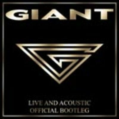 Giant - Live and Acoustic Official Bootleg CD NEU