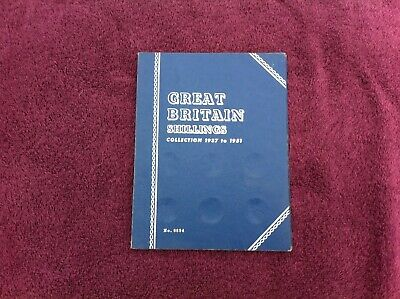 WHITMAN FOLDER FOR KG VI & QE II SHILLINGS 1937-1951 CLEAN ONE Free UK post