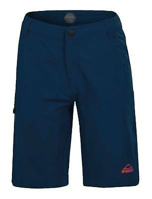 McKinley Children Boys Leisure Hiking Trekking Trousers Bermuda Tyro navy blue