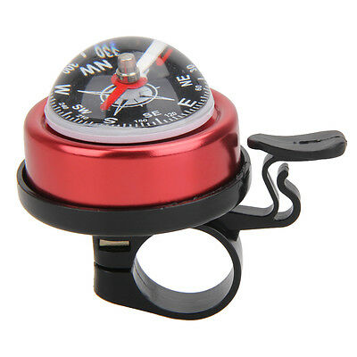 Sport Bike Bicycle Bell Horn Ring Cycling Alarm with Compass