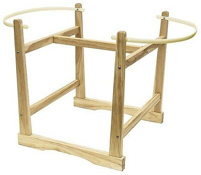 NEW Kinder Valley Compact Wooden Moses Basket Stand