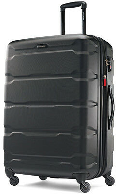 "Samsonite Omni 28"" Hardside Spinner Expandable Upright Luggage - Black"