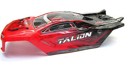 Arrma TALION 6s BLX - Painted Body (Red LWB shell AR406135 AR106030