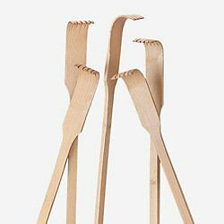 Wooden Back Scratchers 18 inches 1 dozen