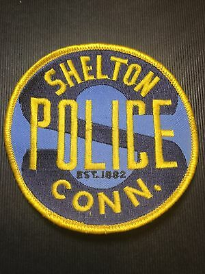Shelton Connecticut  Police  Shoulder  Patch