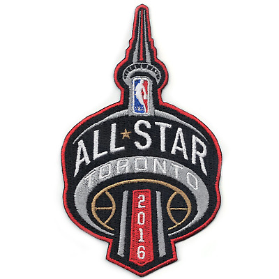 2016 NBA All Star Game Patch in Toronto Raptors Canada Large Jersey Patch 6bffbb3e1