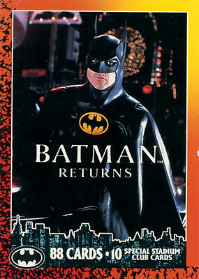 Batman Returns Card Set (Topps, 1992)