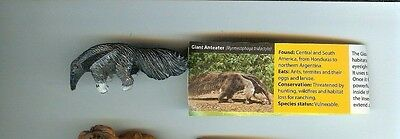 Yowie US Chocolate Egg Brand Collectible Mini Figure: GIANT ANTEATER