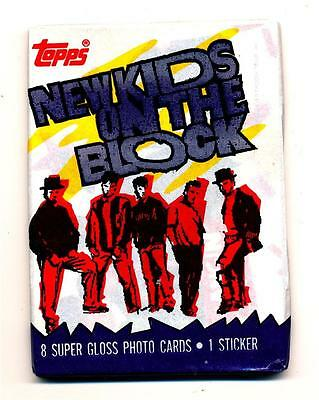 New Kids on the Block Series 1 Trading Card Pack
