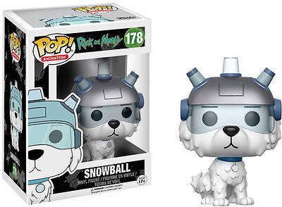 Funko Pop! Animation: Rick & Morty - Snowball (2017, Toy NEUF)