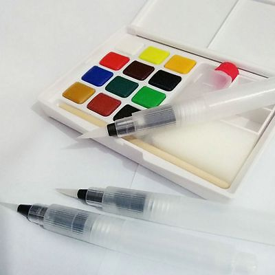 Pilot Ink Pen for Water Brush Watercolor Calligraphy Painting Tool Set New 2017