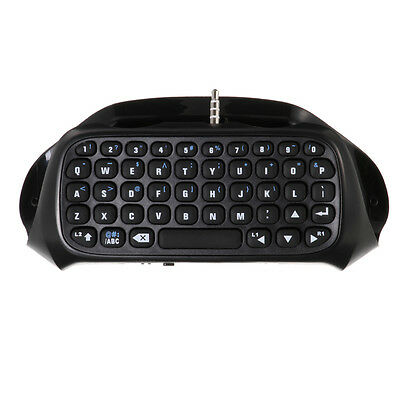 Bluetooth Wireless Keyboard Games KeyPad For Sony PS4 PlayStation 4 Controller