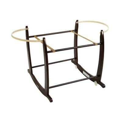Clair de Lune Deluxe Moses Basket Rocking Stand (Dark)