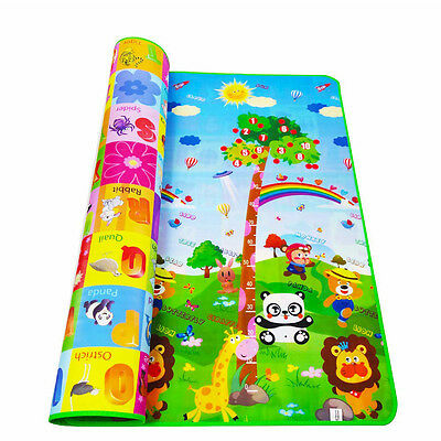 Baby Kid Toddler Play Crawl Mat Carpet Playmat Foam Picnic Blanket Rug f In/Out