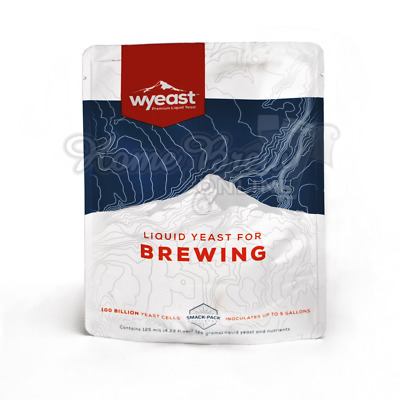 WYeast Activator Smack Pack Liquid Yeast Home Brew Beer Lager Ale Cider CHOICE
