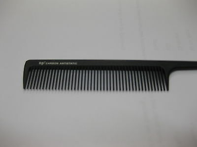 Top Tail End Comb Carbon Anti-Static Professional Salon Hair Dressing Cut New 93