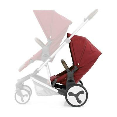 BabyStyle Hybrid Tandem Seat Unit (Lava Red)