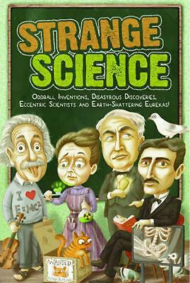 Strange Science by Editors of Portable Press Paperback Book Free Shipping!
