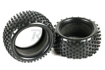 06025 1/10 Scale RC Buggy Rear Tyres 2P