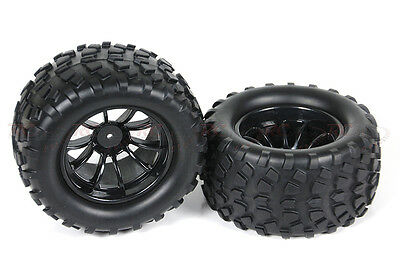 08071 08045 1/10 Scale RC Truck Wheel Complete 2P