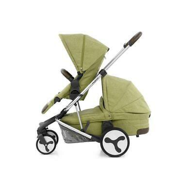 BabyStyle Hybrid Tandem Pushchair & Carrycot (Pistachio)