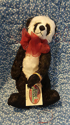 """GANZ - Cottage Collectibles -- Christy Rave -- """"Pickwick"""" Panda -- MWT"""