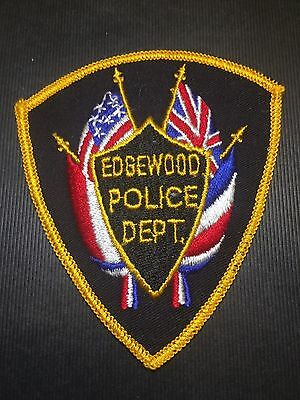 Edgewood Indiana Police Shoulder Patch
