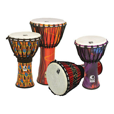 Toca Freestyle Synergy SFDJ Djembe in Various Sizes and Colours